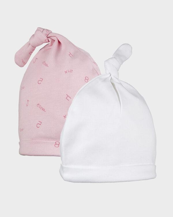 Pack 2 cappelli bimba - Prénatal