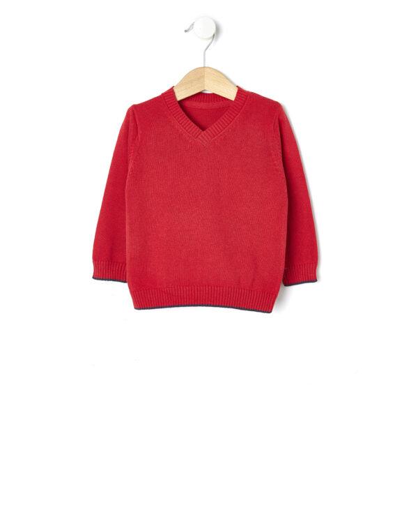 Maglia in tricot rossa - Prénatal