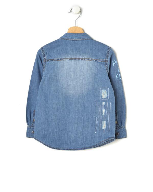 Camicia basica in denim - Prénatal