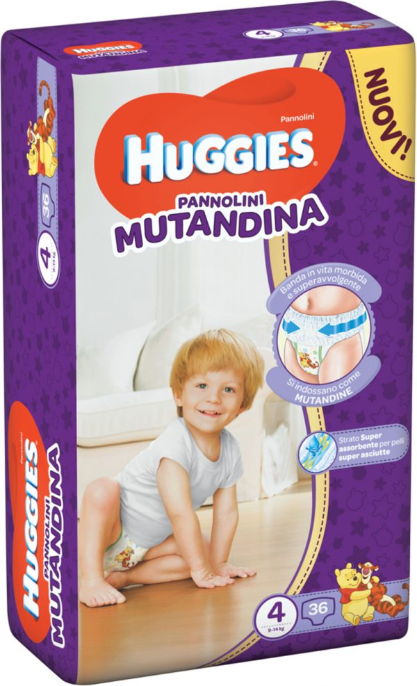 Huggies pannolino mutandina x2 tg 4 - Prénatal