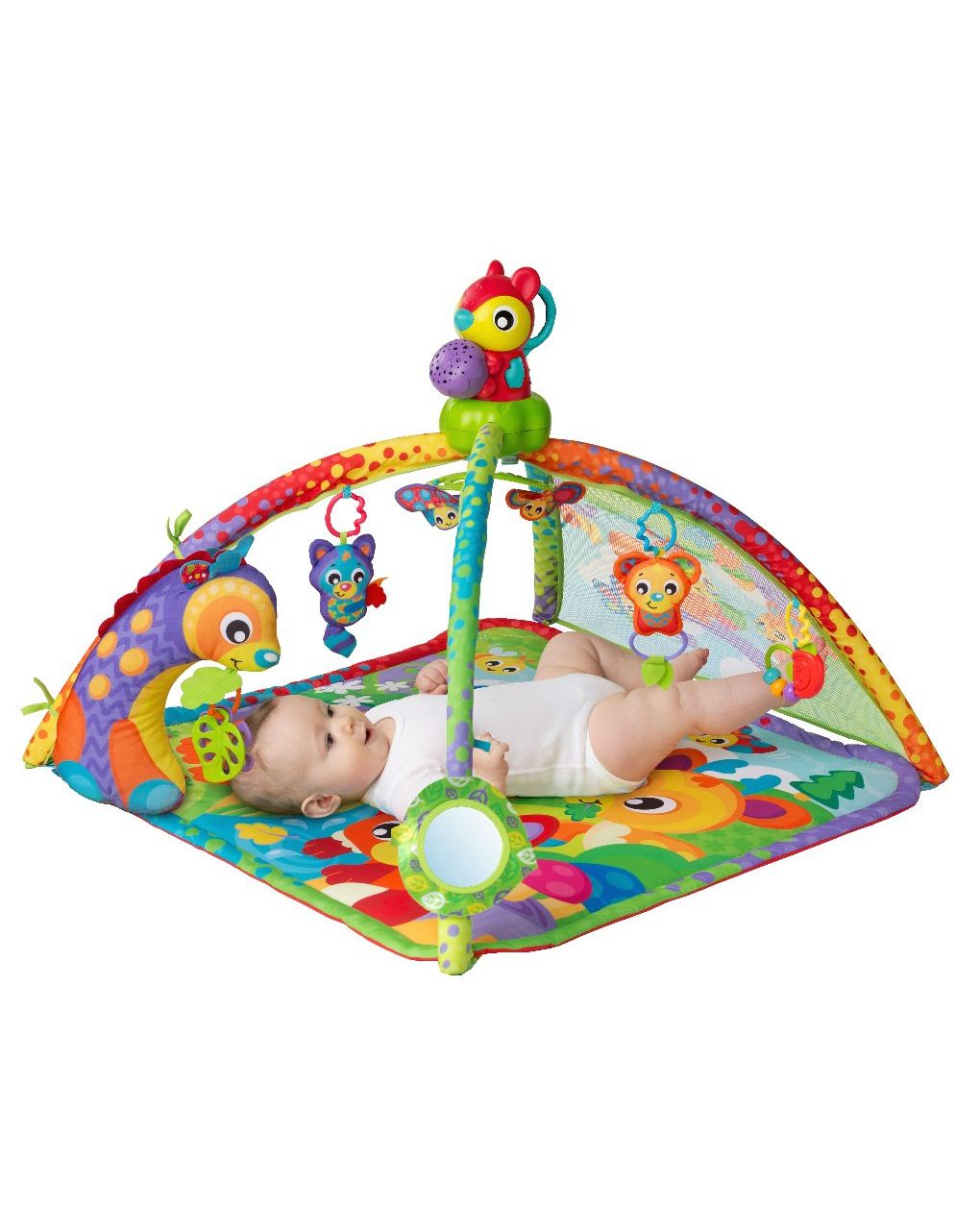 Playgro - woodland music and light projector gym - Playgro