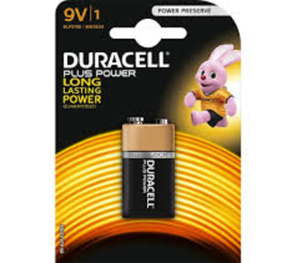 Plus power 9v - Duracell