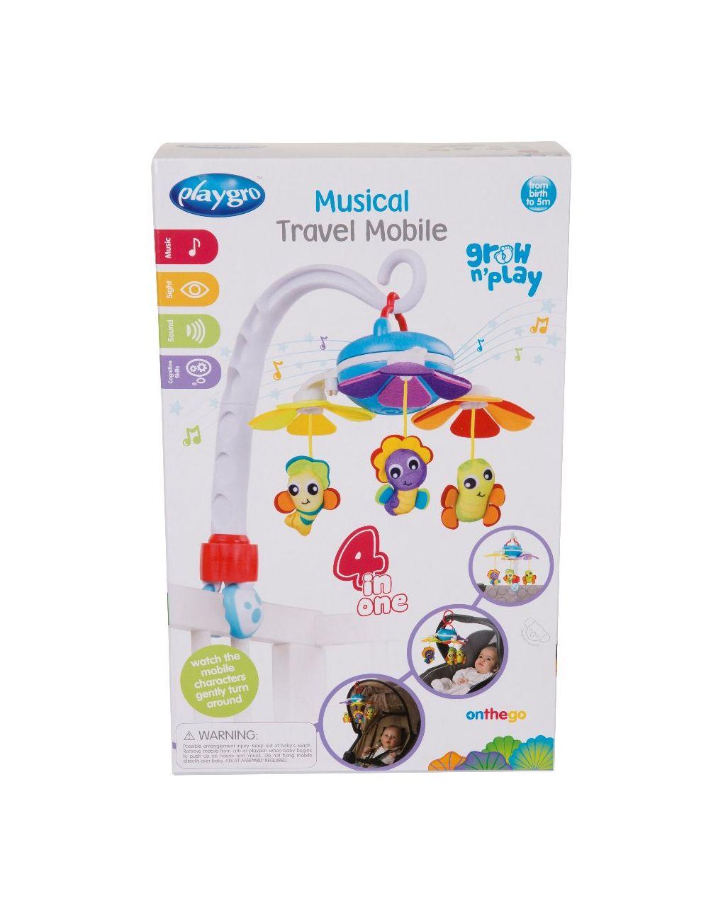 Playgro - musical travel mobile - Playgro