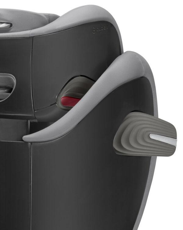 Seggiolino auto Solution S-fix Pepper Black - Cybex