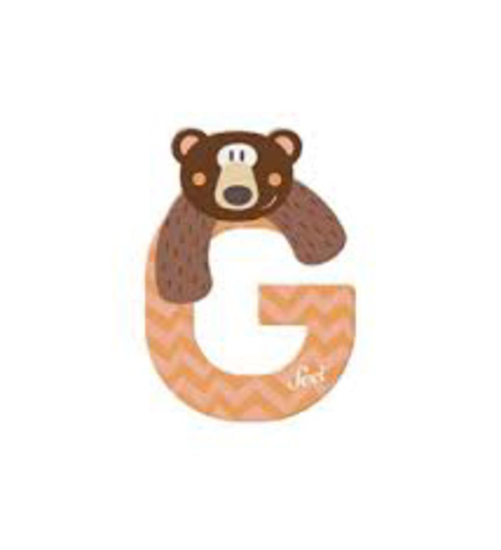 Lettera g grizzly - Sevi