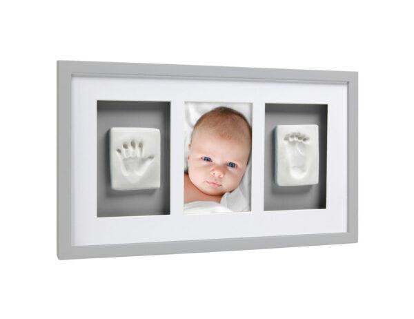 Babyprints deluxe wall frame grey - Pearhead