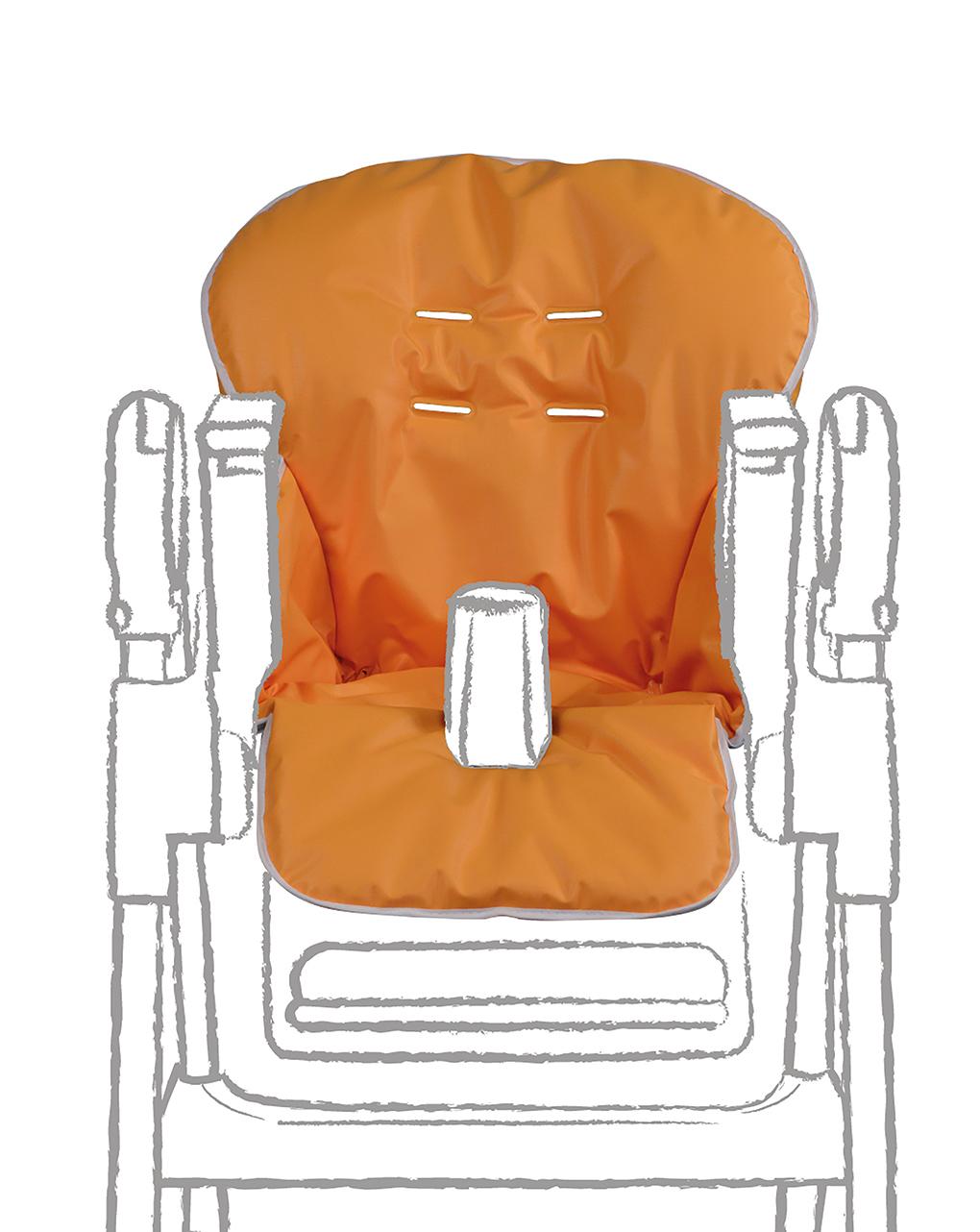 Copri seggiolone in pvc arancione - Giordani
