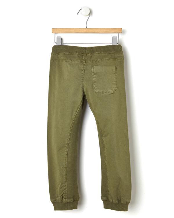 Pantalone verde con elastico alle caviglie - Prénatal