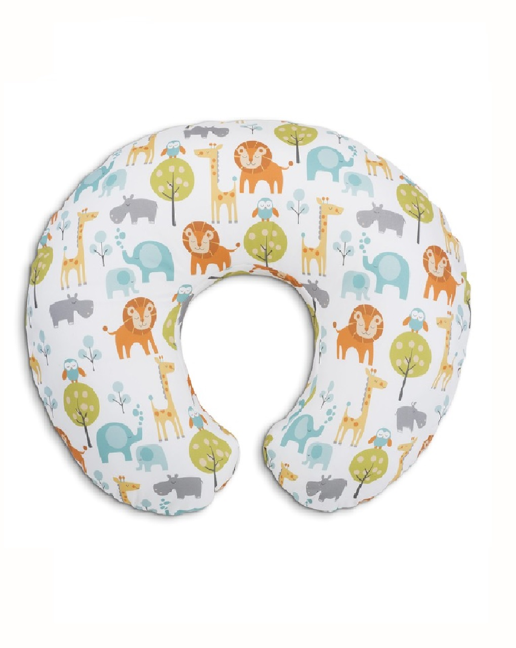Cuscino allattamento boppy peaceful jungle