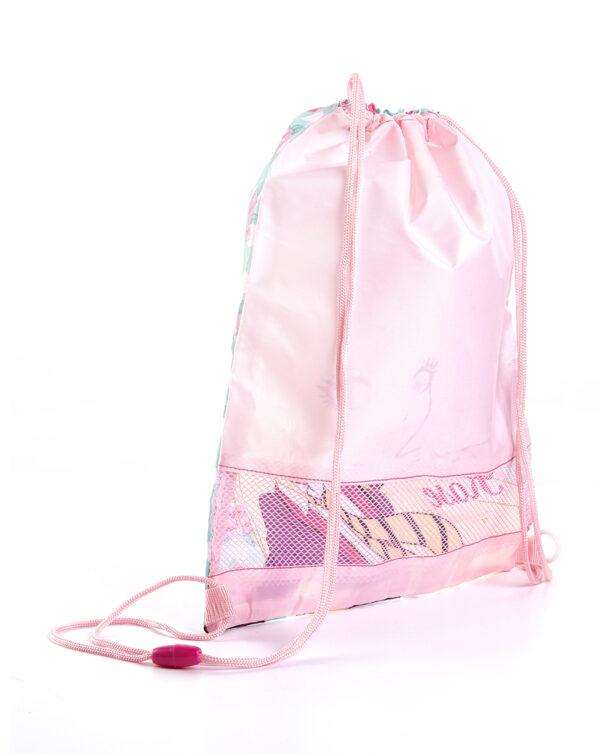 Sacca rosa con stampa Regal Academy - Prénatal
