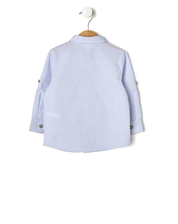 Camicia azzurra con papillon - Prénatal