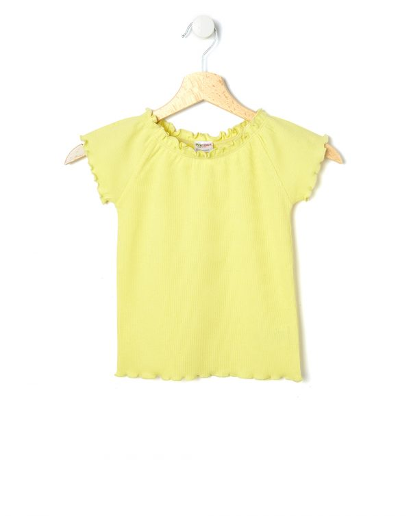 T-shirt gialla a maniche corte - Prénatal
