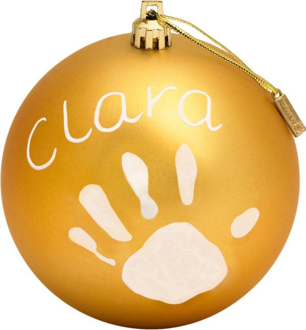 Christmas Ball Gold - Prénatal