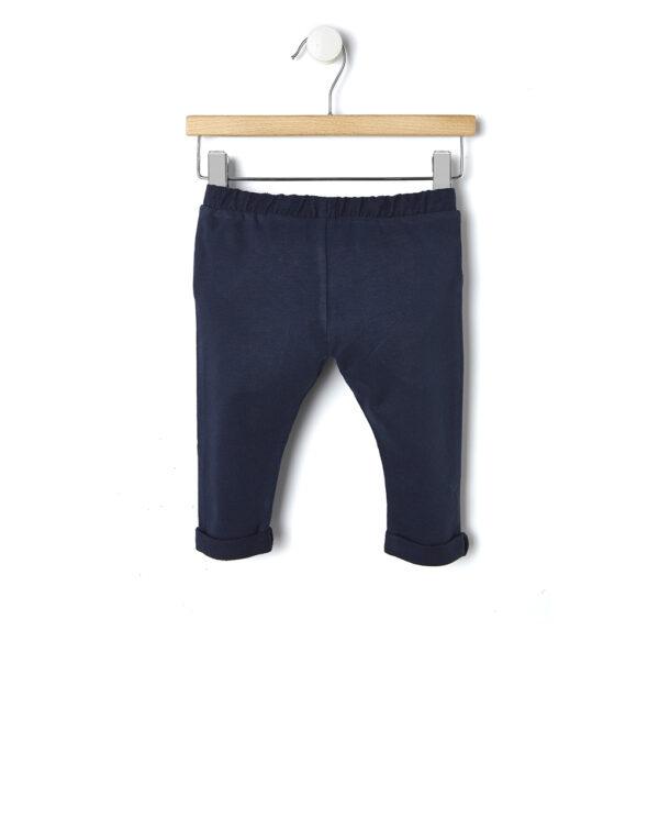 Pantaloni in felpa blu scuro - Prénatal