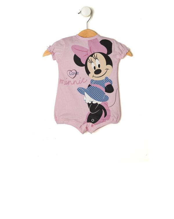 Pagliaccetto rosa con Minnie e pois - Prénatal
