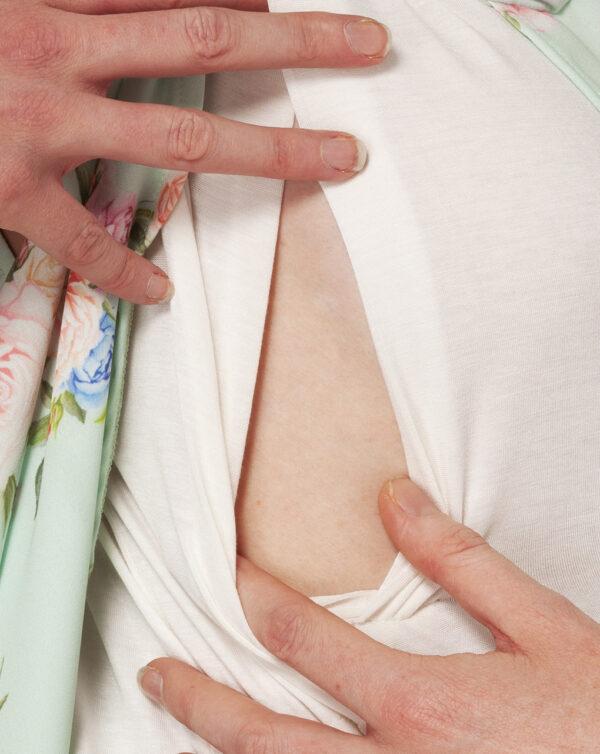 T-shirt allattamento con stampa all-over - Prénatal