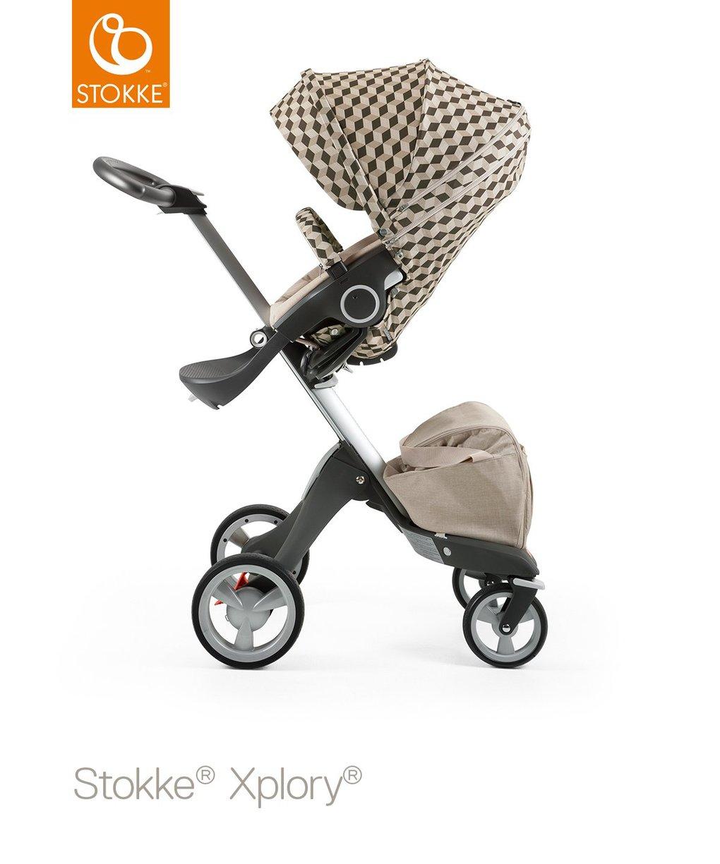 Style kit per seggiolino da passeggino stokke - beige cube - Stokke