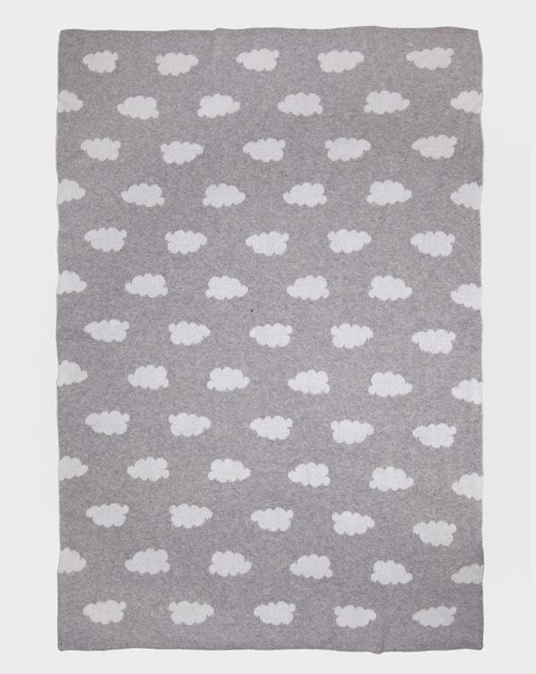 Copertina in tricot con nuvole - Prénatal
