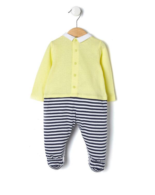 Tutina giallo chiaro con limone Yellow like me - Prénatal