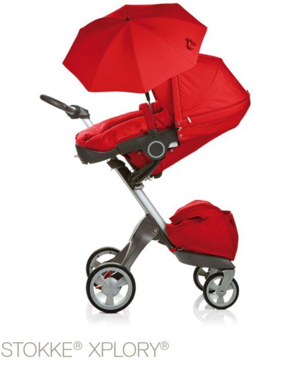 Stokke® Passeggino Ombrellino Parasole - red - Stokke