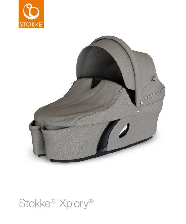 Stokke® Xplory® Navetta - brushed grey V6 - Stokke