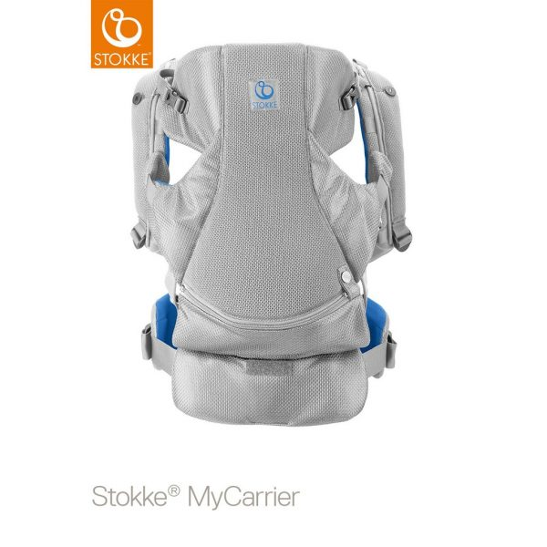 Stokke® MyCarrier™ Marsupio anteriore e posteriore - marina mesh - Stokke