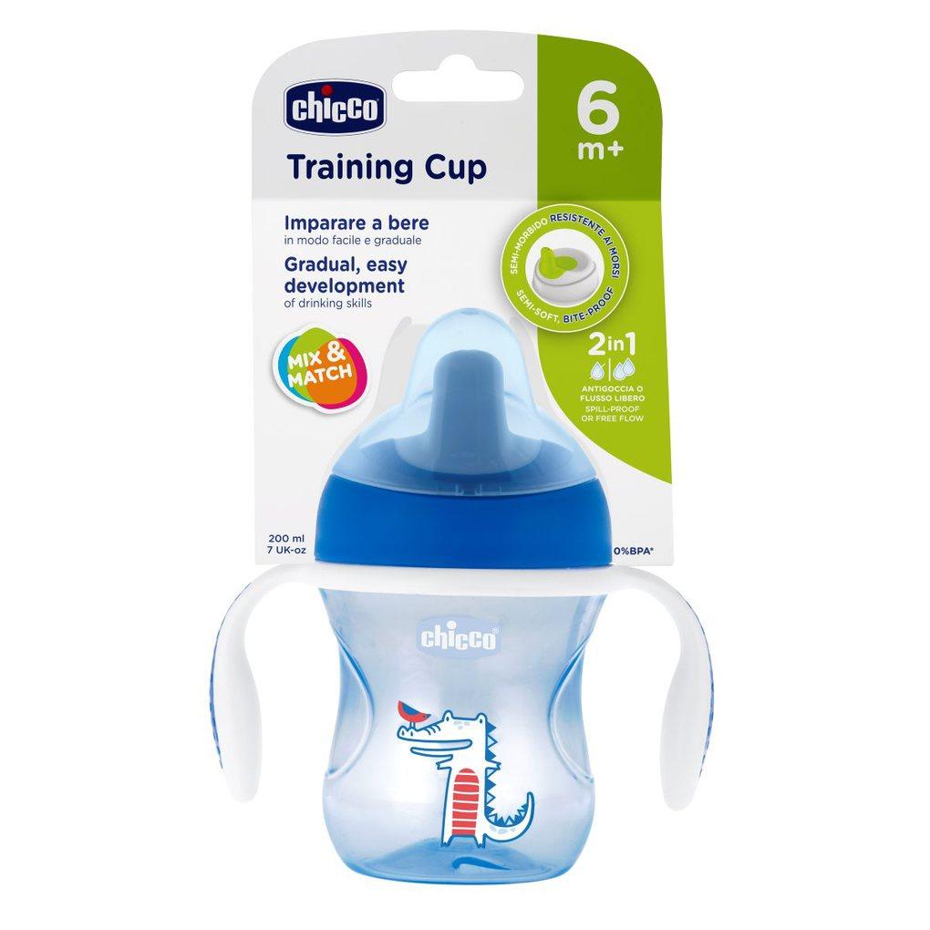 Tazza training azzurra 6m+ pack1 - Chicco