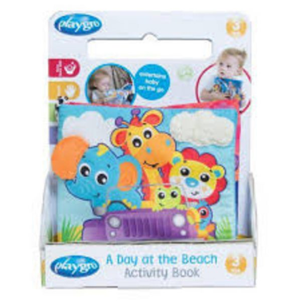 PLAYGRO - A DAY AT THE BEACH ACTIVITY BOOK - Playgro