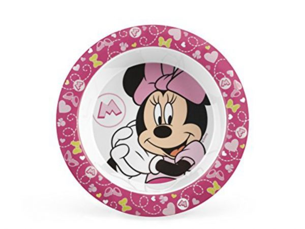 PIATTO MLM DISNEY MINNIE3 PAPPA 18 - Prénatal