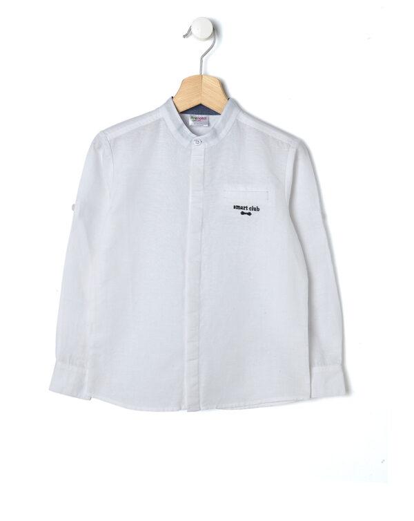 Camicia classica in lino bianco - Prénatal