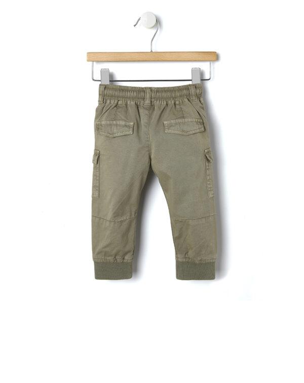 Pantaloni beige con scritta FUN - Prénatal