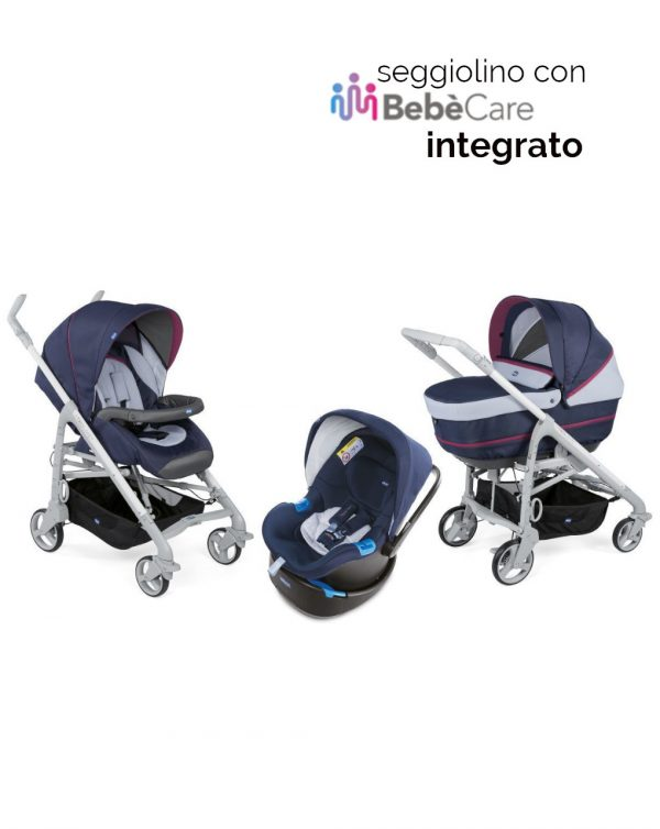 Trio Love Up earl grey con Oasys Up 0+ con Bebècare - Chicco