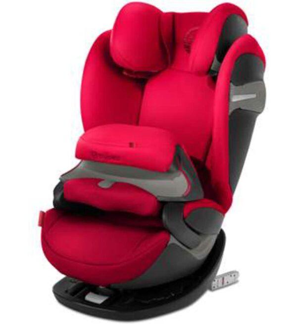 Seggiolino auto Pallas S-Fix rosso - Cybex