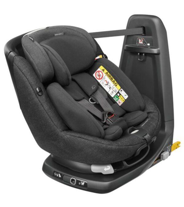 Seggiolino auto AxissFix Plus ( Gr. 0+/1) Nomad Black - Bébé Confort