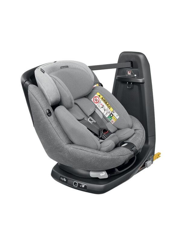 Seggiolino auto AxissFix Plus (Gr. 0+/1) Nomad grey - Bébé Confort