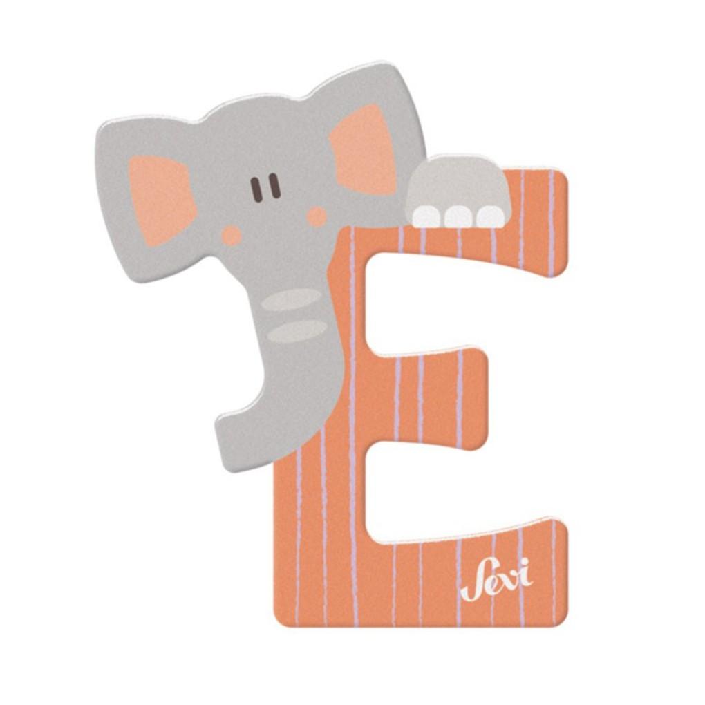 Lettera e elefante - Sevi