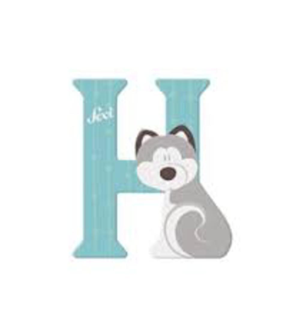 Lettera h husky - Sevi