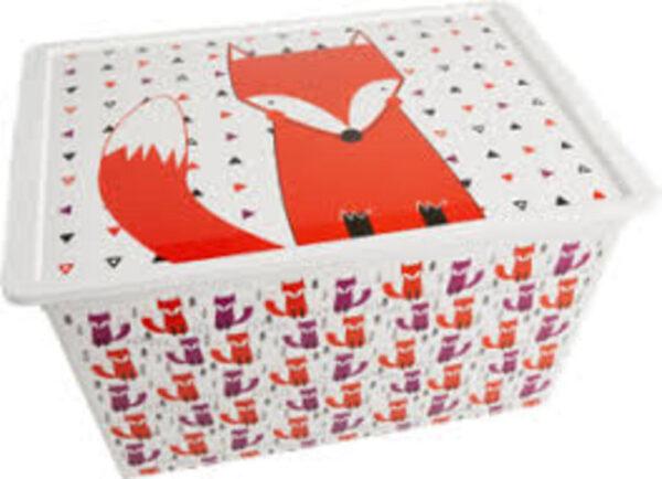 C-BOX HIPSTER XL CON RUOTE - 55x38,5x30, - Prénatal