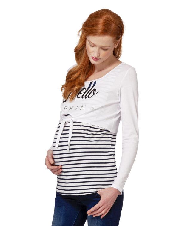 T-shirt allattamento doppia - Prénatal