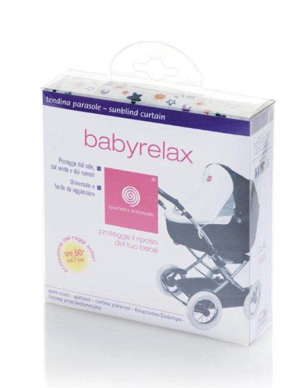 Babyrelax Tendina parasole Buonanotte - 40 Settimane