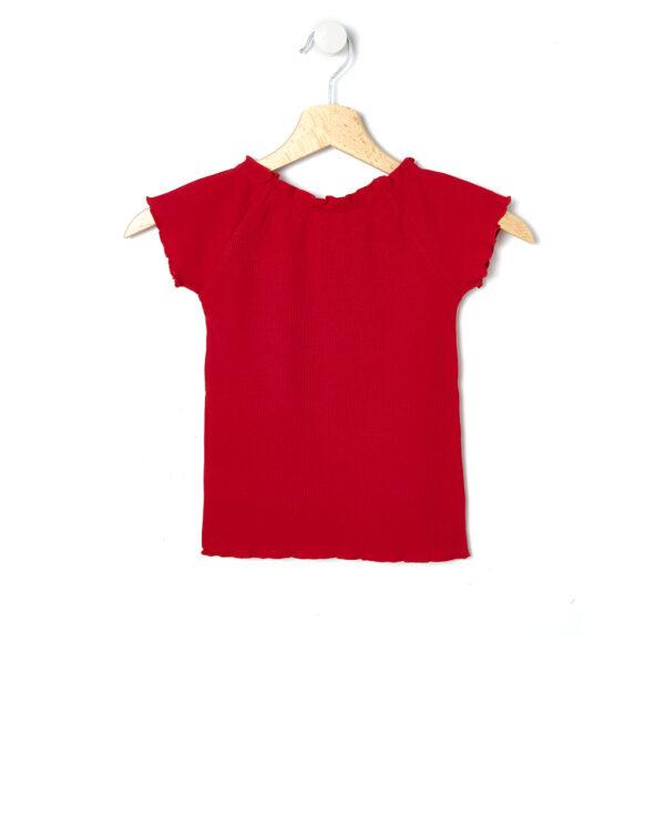 T-shirt rossa a maniche corte - Prénatal