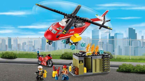 LEGO® City - Unità di risposta antincendio (5-12 anni) - Prénatal