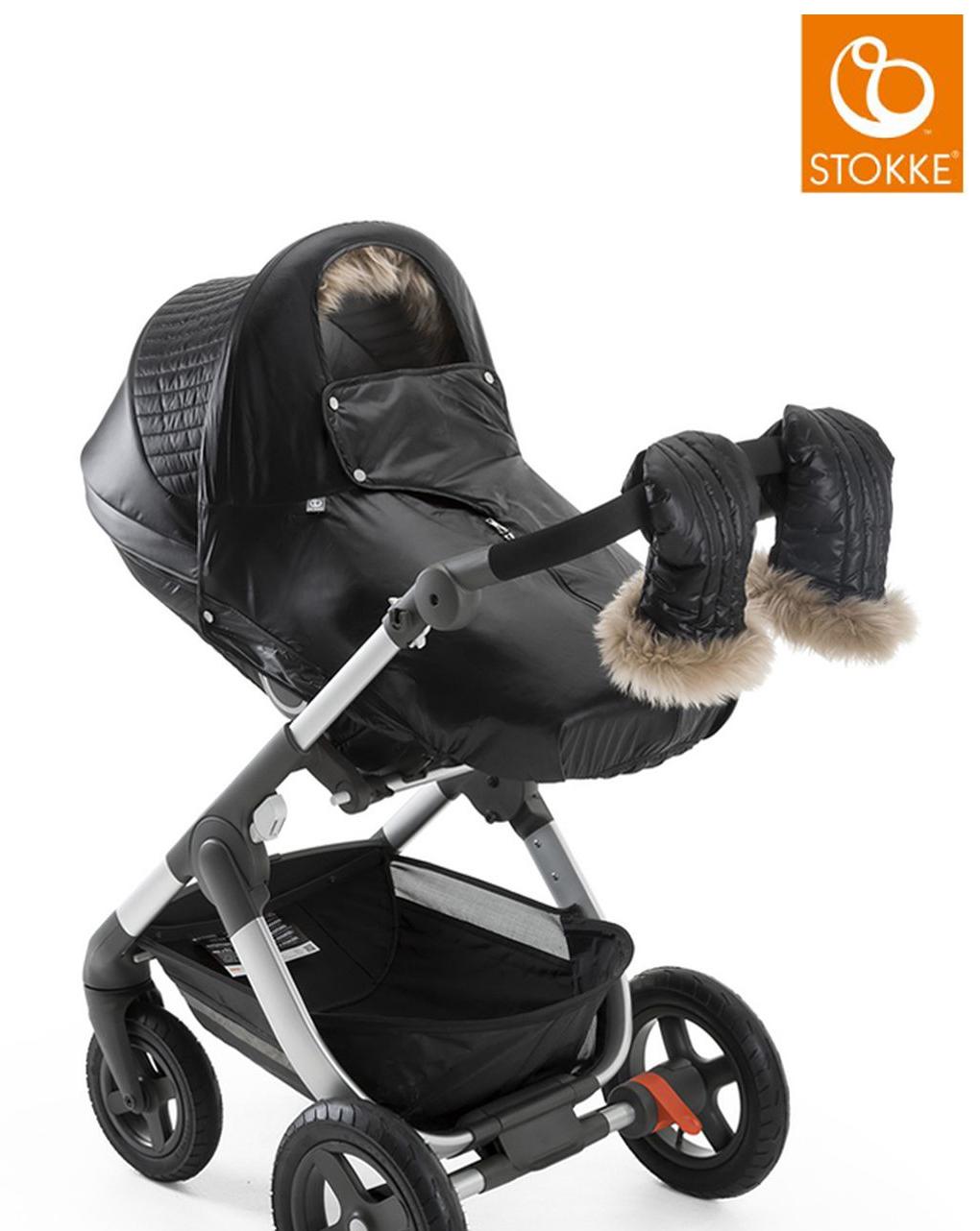Stokke® stroller winter kit - onyx black - Stokke