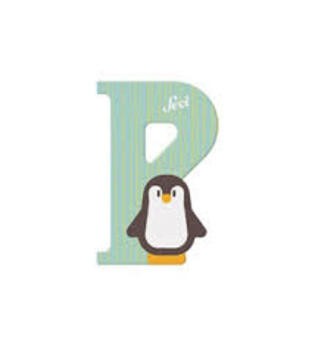 Lettera p pinguino - Sevi