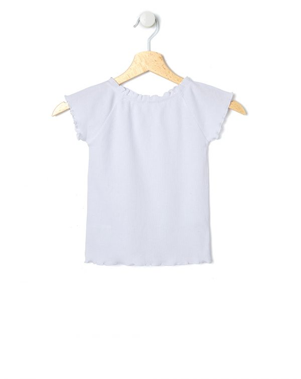 T-shirt bianca a maniche corte - Prénatal