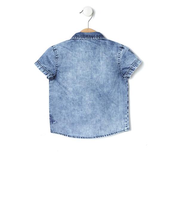 Camicia in chambray délavé - Prénatal