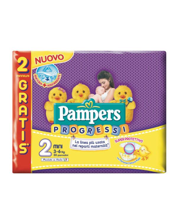 Pannolino Progressi tg. 2 (30 pz) - Pampers