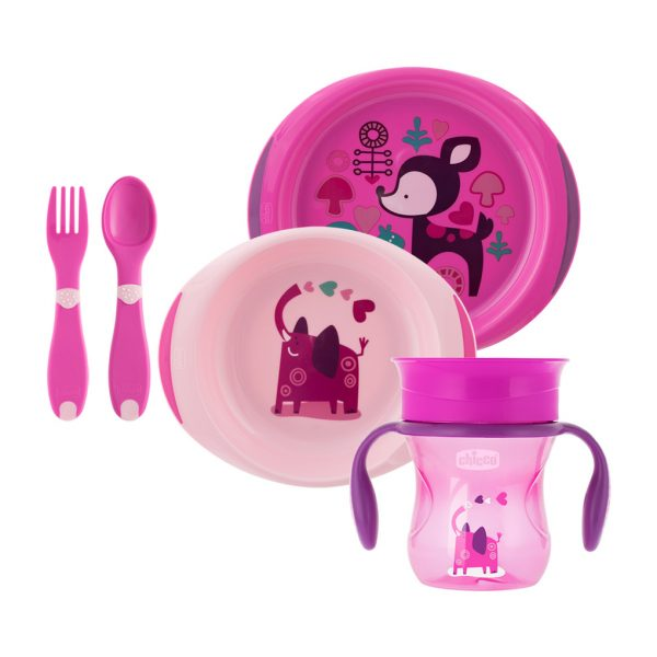 SET PAPPA 12M+ GIRL - Chicco