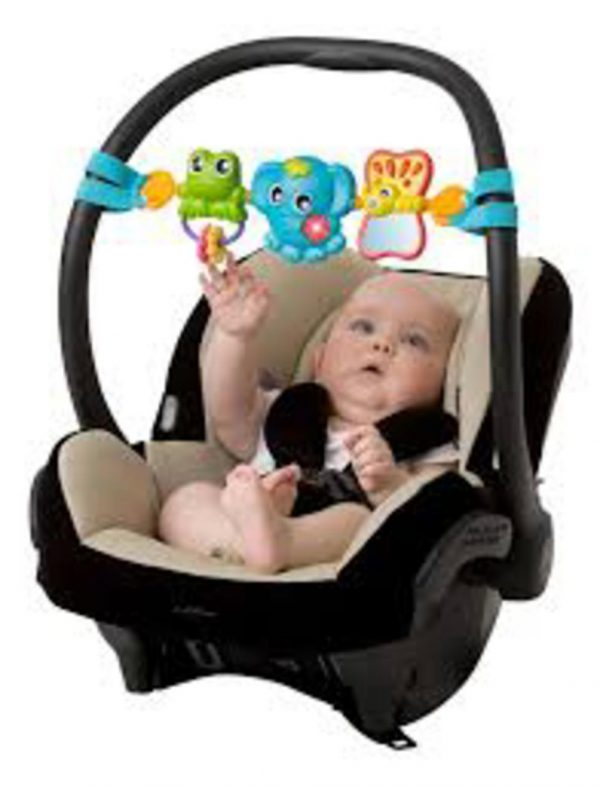 TRAVEL TRIO MUSICAL PRAM TIE - NEW - Prénatal