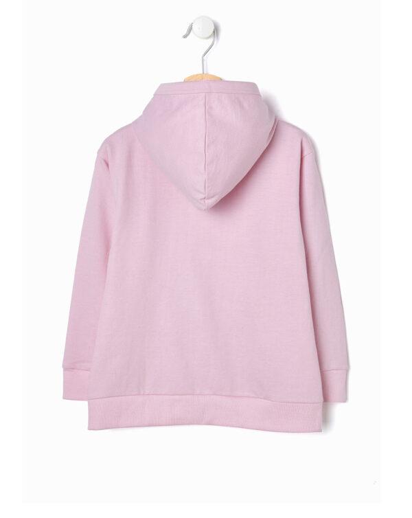 Cardigan rosa chiaro con scritta HAPPY - Prénatal